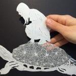 Kağıt Kesme Sanatı Örnekleri 95