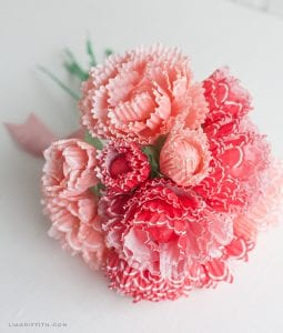 Kapkek Kağıtlarından Çiçek Yapılışı 1
