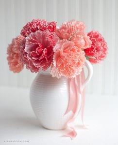 Kapkek Kağıtlarından Çiçek Yapılışı