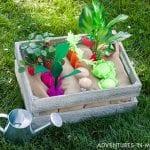 Keçe Sebze Bahçesi Yapılışı 18