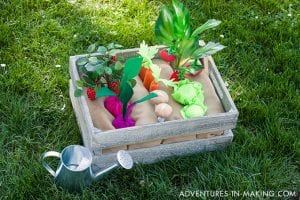 Keçe Sebze Bahçesi Yapılışı