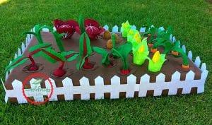 Keçe Sebze Bahçesi Yapılışı 28
