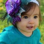 Kız Bebek Saç Bandı Mdoleleri 13