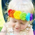 Kız Bebek Saç Bandı Mdoleleri 14