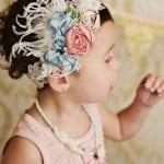 Kız Bebek Saç Bandı Mdoleleri 4