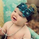 Kız Bebek Saç Bandı Mdoleleri 7