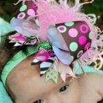 Kız Bebek Saç Bandı Modelleri 10