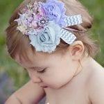 Kız Bebek Saç Bandı Modelleri 14