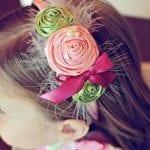 Kız Bebek Saç Bandı Modelleri 29