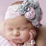Kız Bebek Saç Bandı Modelleri 37