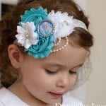 Kız Bebek Saç Bandı Modelleri 4