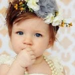 Kız Bebek Saç Bandı Modelleri 53