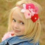 Kız Bebek Saç Bandı Modelleri 61