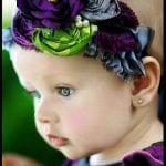 Kız Bebek Saç Bandı Modelleri 63