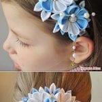 Kız Bebek Saç Bandı Modelleri 64