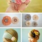 Kız Bebek Saç Bandı Modelleri 69