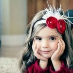 Kız Bebek Saç Bandı Modelleri 72