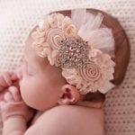 Kız Bebek Saç Bandı Modelleri 73