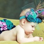 Kız Bebek Saç Bandı Modelleri 74