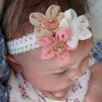 Kız Bebek Saç Bandı Modelleri 75