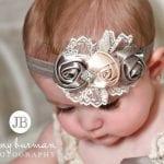 Kız Bebek Saç Bandı Modelleri 8