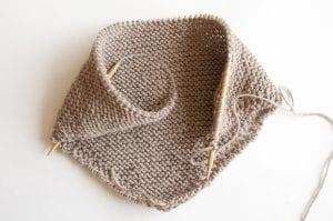 Kolay Şiş Örgü Bebek Battaniyesi Yapılışı 11