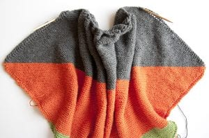Kolay Şiş Örgü Bebek Battaniyesi Yapılışı 8