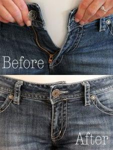 Kot Pantolon Beli Nasıl Genişletilir 12