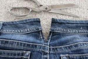 Kot Pantolon Beli Nasıl Genişletilir 5