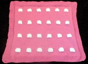 Kuzulu Bebek Battaniyesi Yapımı 11