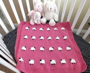 Kuzulu Bebek Battaniyesi Yapımı 14