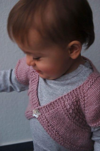 Örgü Bebek Bolero Yapımı 12