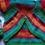 Örgü Bebek Bolero Yapımı 13