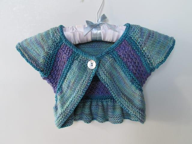 Örgü Bebek Bolero Yapımı 6