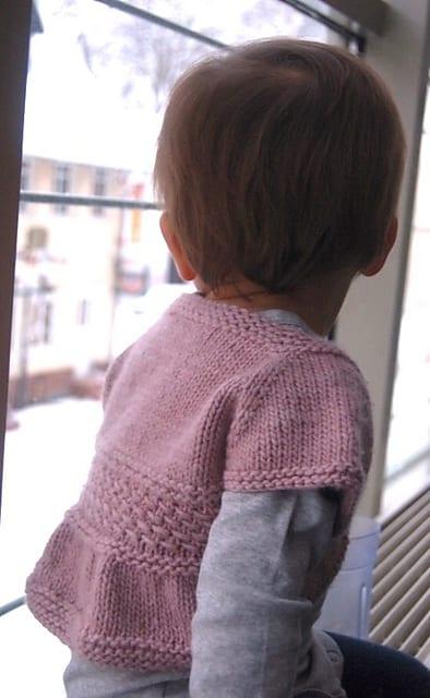 Örgü Bebek Bolero Yapımı 8