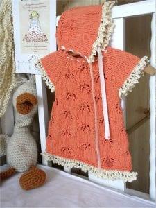 Örgü Bebek Elbisesi Nasıl Örülür? 18