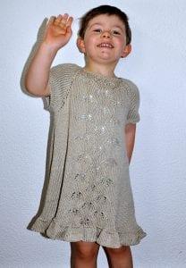 Örgü Bebek Elbisesi Nasıl Örülür? 24