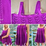 Örgü Elbise Modeli Yapımı 7