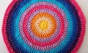Örgü Mandala Battaniye Yapılışı 14