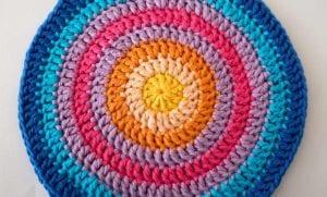 Örgü Mandala Battaniye Yapılışı 15