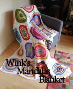 Örgü Mandala Battaniye Yapılışı 1