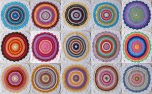 Örgü Mandala Battaniye Yapılışı 20
