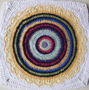 Örgü Mandala Battaniye Yapılışı 39