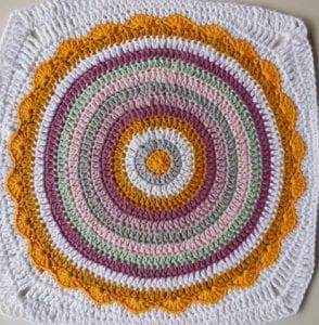 Örgü Mandala Battaniye Yapılışı 7