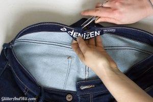 Pantolonun Beli Nasıl Daraltılır? 8