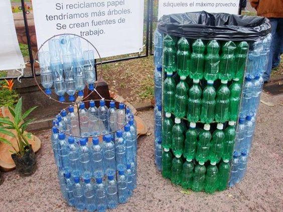 Pet şişe Geri Dönüşüm Fikirleri 17 Mimuucom