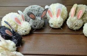 Ponpon Oyuncak Tavşan Yapımı 9