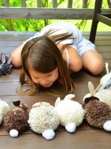 Ponpon Oyuncak Tavşan Yapımı 1