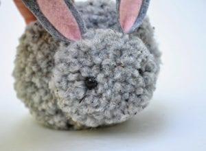 Ponpon Oyuncak Tavşan Yapımı 20