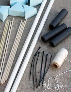 PVC Borudan Ok ve Yay Nasıl Yapılır? 1
